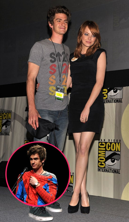 Comic-Con Couple Andrew Garfield and Emma Stone Share New Details About Their Incredible Spider-Man