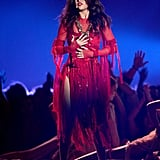 Selena Gomez captured the audience with her performance.