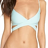 L Space Chloe Wrap Bikini Top and Sandy Bikini Bottoms