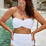 Swimsuits For All Valentine White Bikini