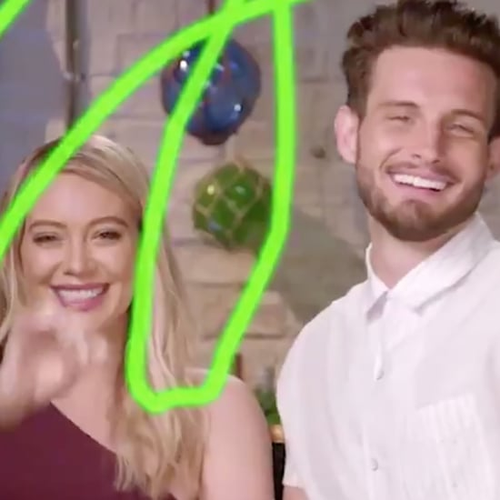 Nico Tortorella Makes Fun of Hilary Duff's Disney Wand Video