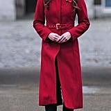 Kate wearing L.K. Bennett in November 2013.
