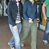 Portia held Ellen's hand during an April 2007 stroll in LA.