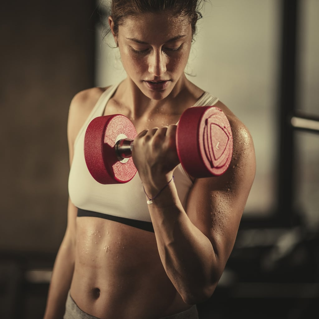 Arm Workouts Popsugar Fitness Weight Training For Women Dumbbell Circuit Workout