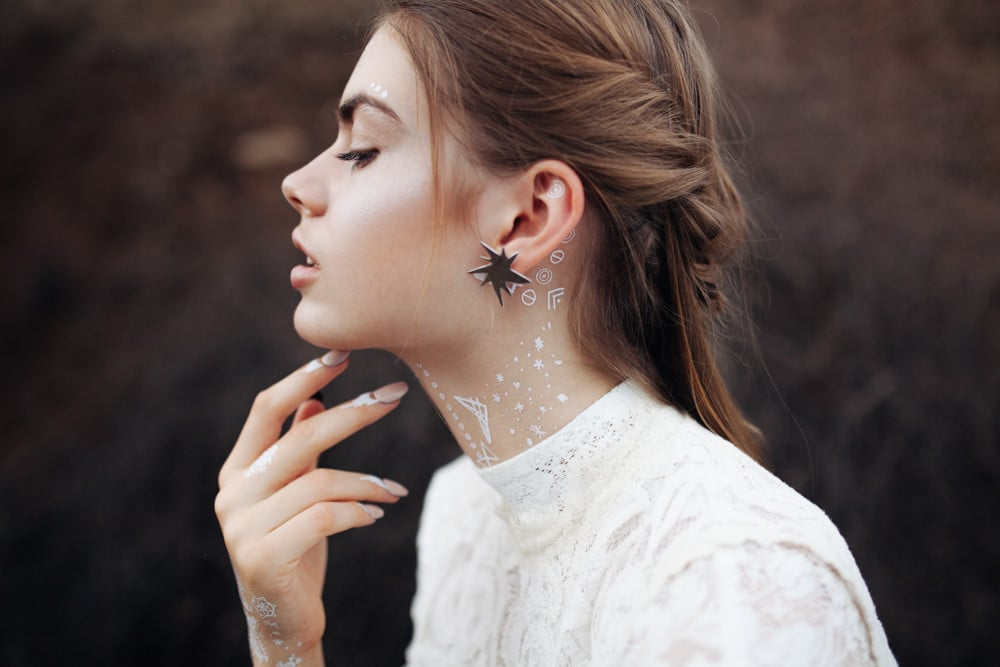 White temporary tattoos popsugar beauty australia for White temporary tattoos