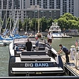"When He Literally Rode on a Boat Called ""Big Bang"""