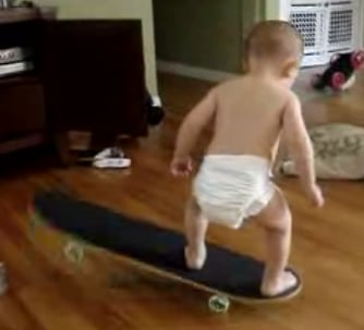 World's Youngest Skater, Dude!