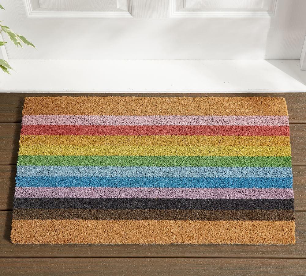 Pottery Barn Pride Doormat