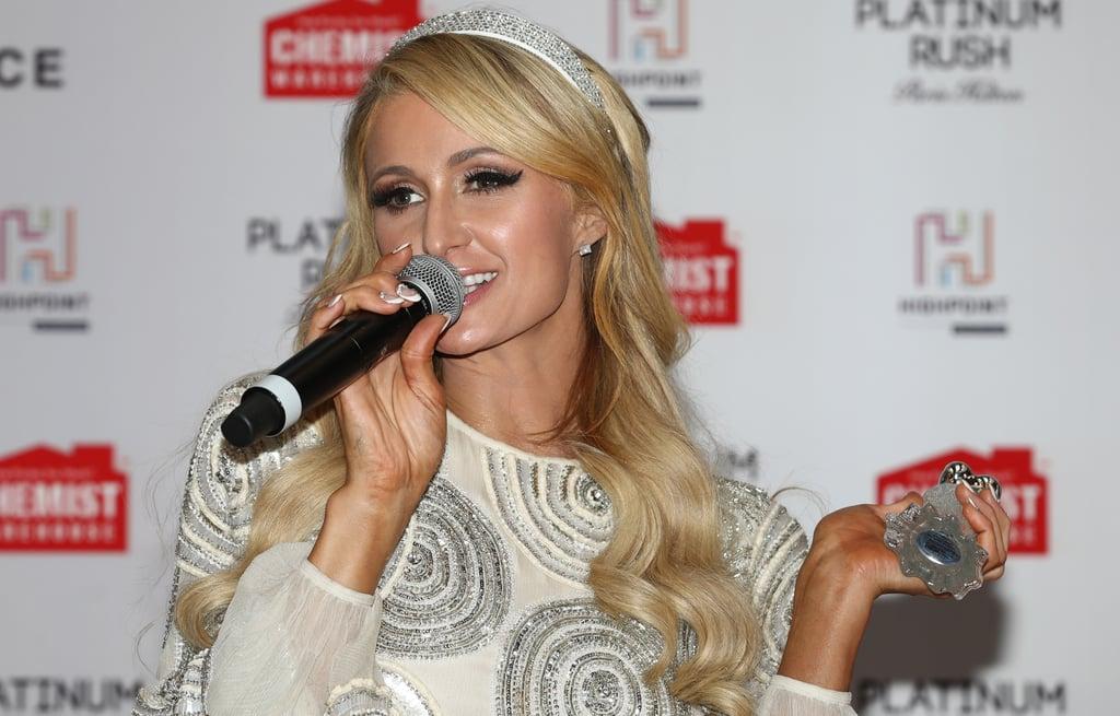 Paris Hilton's French Manicure