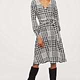 H&M Crêped Wrap-front Dress