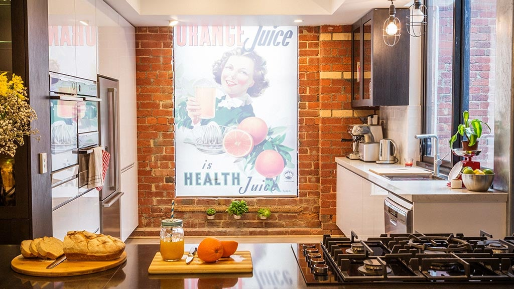 "Picture: Chantelle and Steve's bright and cheery kitchen. Source: Channel Nine PS: That would have left a bit of a sour taste in your mouth, but that said, I saw a lot of support for you and Steve out there! Chantelle: I'm happy with how things went down for me personally, as an individual, but we're part of a team and it is really hard — a couple of weeks ago during the rooftop terrace week, I said a few things like, ""I'm really unmotivated and don't care. . . I wanna go home,"" and I was! And it's my biggest regret, that I was in that state and I got up late and went to bed early and Steve did practically everything. And it was really sweet, he said to me, ""I'm going to do this for us,"" — even though we were arguing — ""I'm going to do this for us, I'm gonna get us over the line,"" and it's such a shame that they're dodging that [when it goes to air]. It's a bummer. But you're right, we do have a lot of support. It's not in numbers, it's not huge compared to other people, but we feel so fortunate that if people are willing to look through that to see who we really are, it's. . . We're so blown away with the support, we couldn't imagine anything more. PS: I've read the comments on a lot of articles, and your true fans are super dedicated to defending your honour. . . Chantelle: It's beautiful! It's just a shame though — and it's not just us, there's what they say about Keith, about the twins, about everyone, any person who's in the spotlight has things said about them — it's really heightened our awareness of this issue [with trolling]. I mean, these are adults mostly! And if children read the comments, that's what they're being taught is the way forward, and it's just so sad. I would take all of that for the rest of my life if I could prevent [online bullying] from happening to children. It just shouldn't happen. It just sucks that the only solution is to not look at it — I just don't think that's good enough. Poor Steve, a lot of the time he won't watch the show. Or he'll have to stay totally away from social media. And that's not a good way to be."