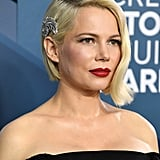 Michelle Williams's Waved Bob at the 2020 SAG Awards