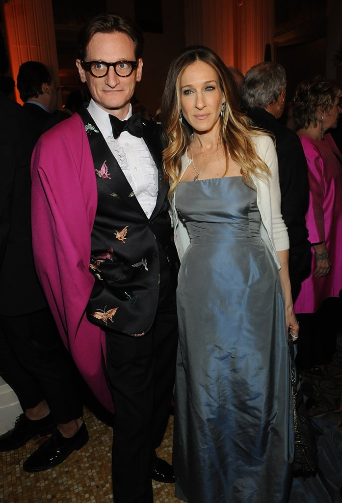 Hamish Bowles and Sarah Jessica Parker