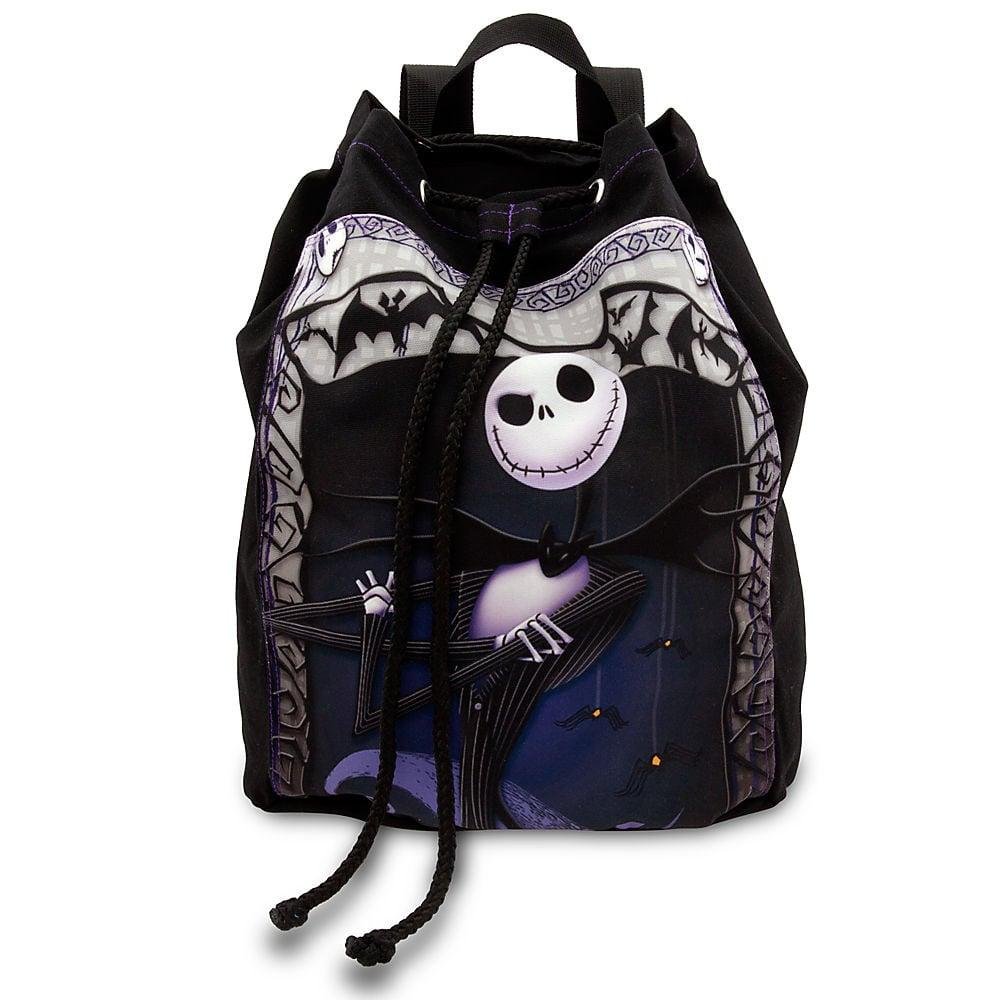 Jack Skellington Cinch Sack Backpack