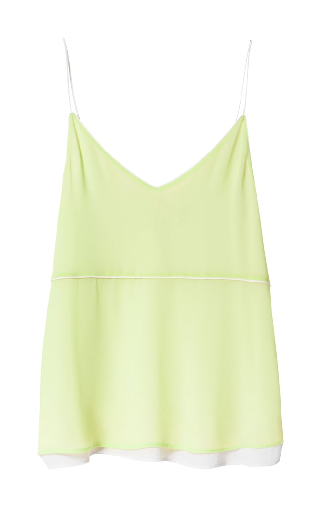 This gorgeous, wispy Zara Two-Tone Camisole ($40) was made for wearing on warm Summer nights.