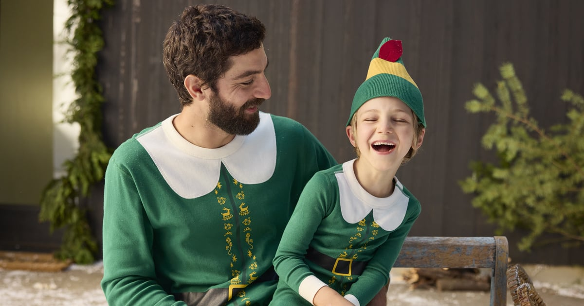 """These Matching Family Elf Pajamas Will Have People Saying, """"Buddy! I Know Him!"""".jpg"""