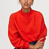 H&M Knit Mock-turtleneck Sweater