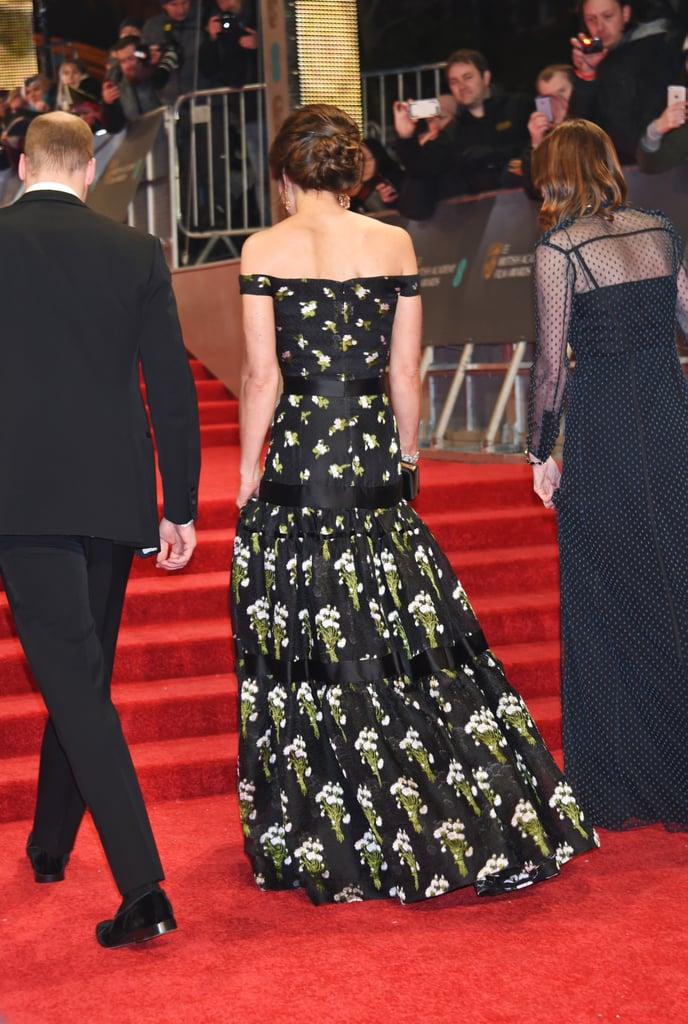 Kate Middleton Alexander McQueen Dress at BAFTA Awards 2017