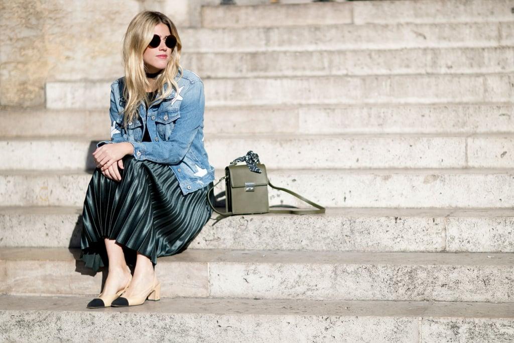 Chanel shoes at Paris Fashion Week Spring 2017