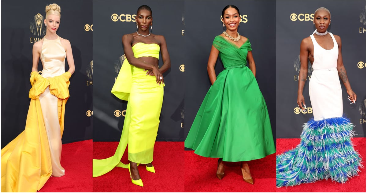 The Emmys Greatest Dressed 2021