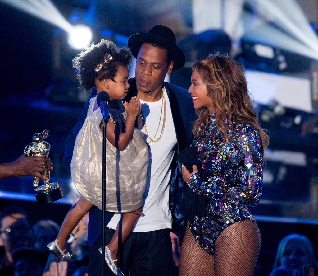 In 2014, Jay Z and Blue Ivy Carter presented Beyoncé with the Michael Jackson Video Vanguard Award.