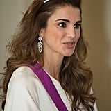 Queen Rania Balmain Skirt May 2016