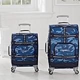 Mackenzie Navy Camo Spinner Luggage