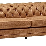 Chesterfield Modern Leather Loveseat ($1,449)