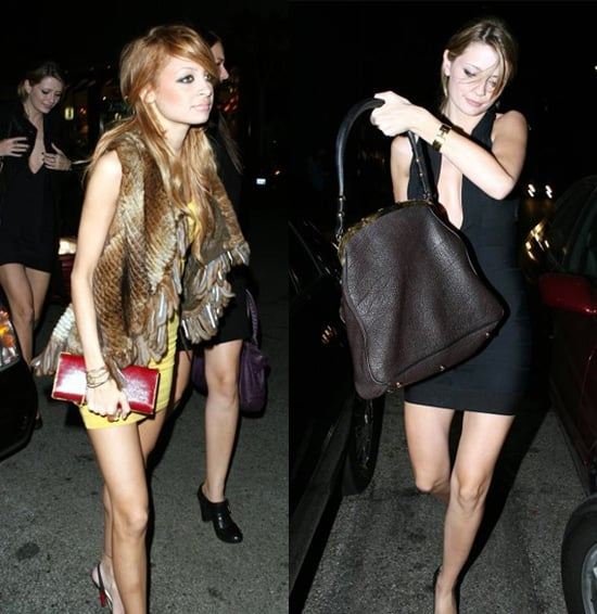 Mischa and Nicole Out on The Town