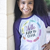 Hello Fourth Grade Shirt