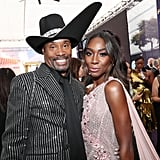 Billy Porter and Angelica Ross at the 2019 Emmys