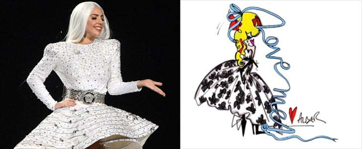 Lady Gaga Has Some Pretty Crazy Wedding Dresses to Choose From