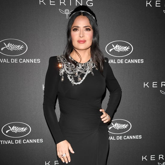 Salma Hayek Speaks About Meghan Markle's British Vogue Issue