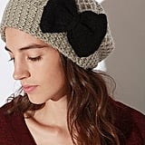 Pins and Needles Cozy Bow Beret ($28)