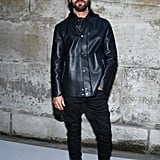 Justin Theroux at Paris Fashion Week March 2018