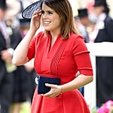 She was stunning in red at Royal Ascot in 2017.