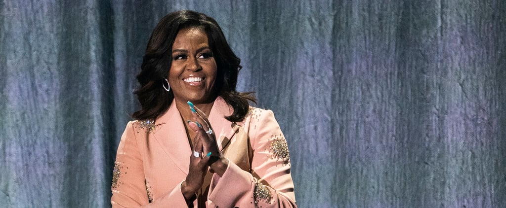 Michelle Obama Talks At-Home Beauty and Manicures on Podcast