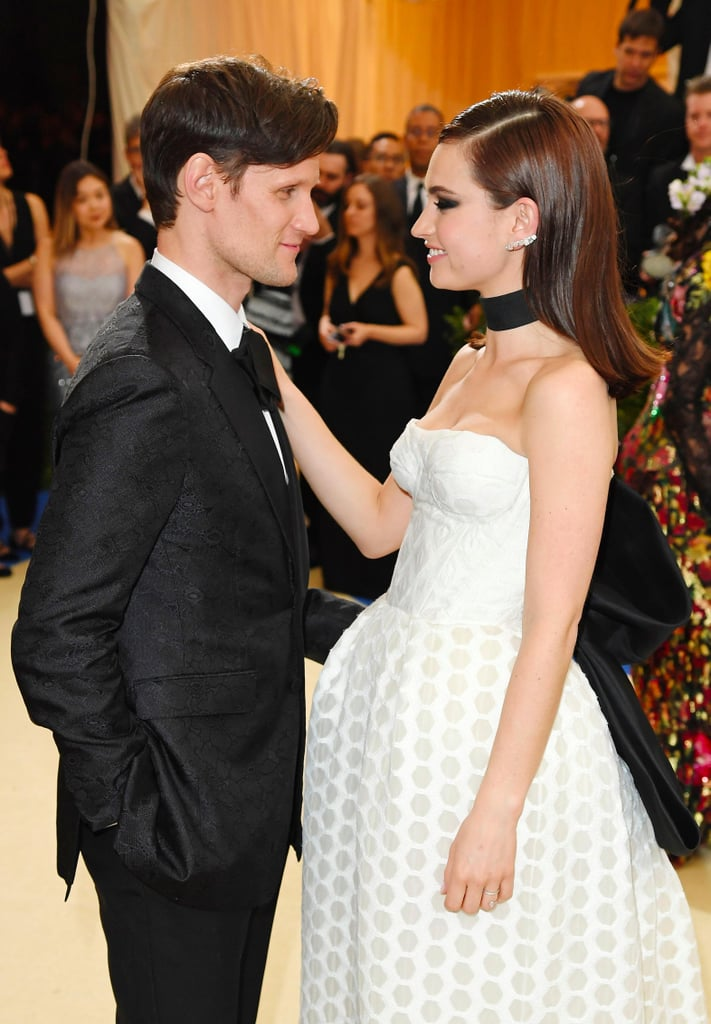 Matt Smith and Lily James at the Met Gala 2017