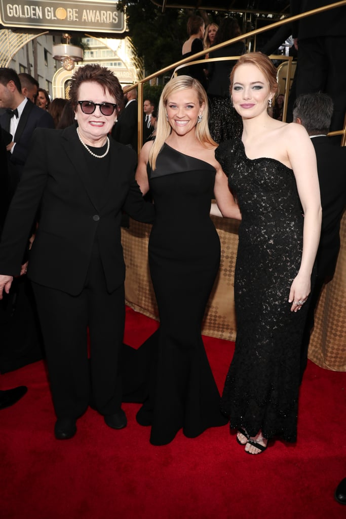 Billie Jean King, Reese Witherspoon and Emma Stone