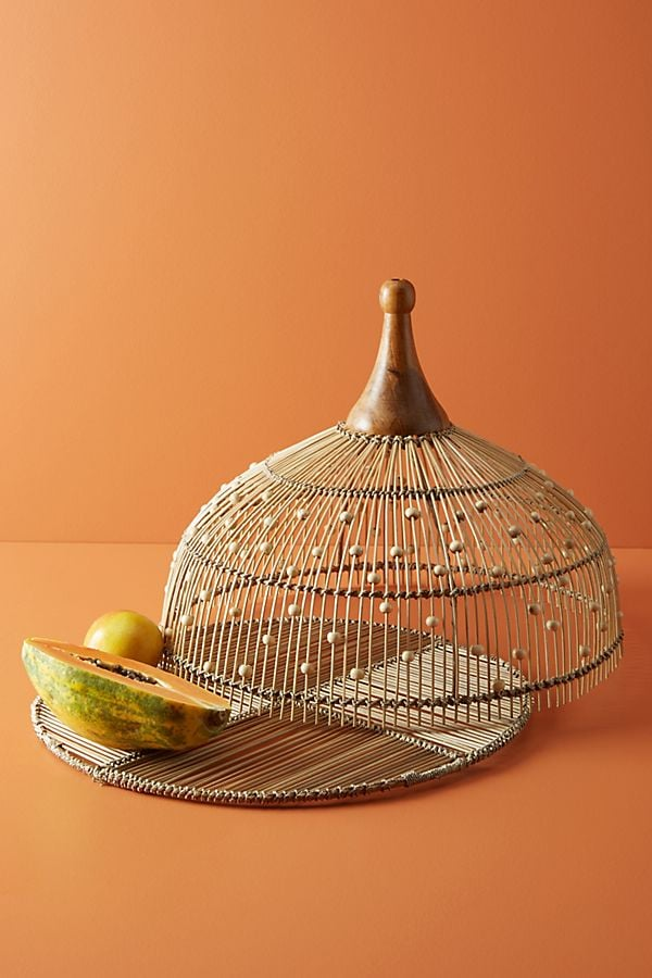 Annika Decorative Beaded Food Dome