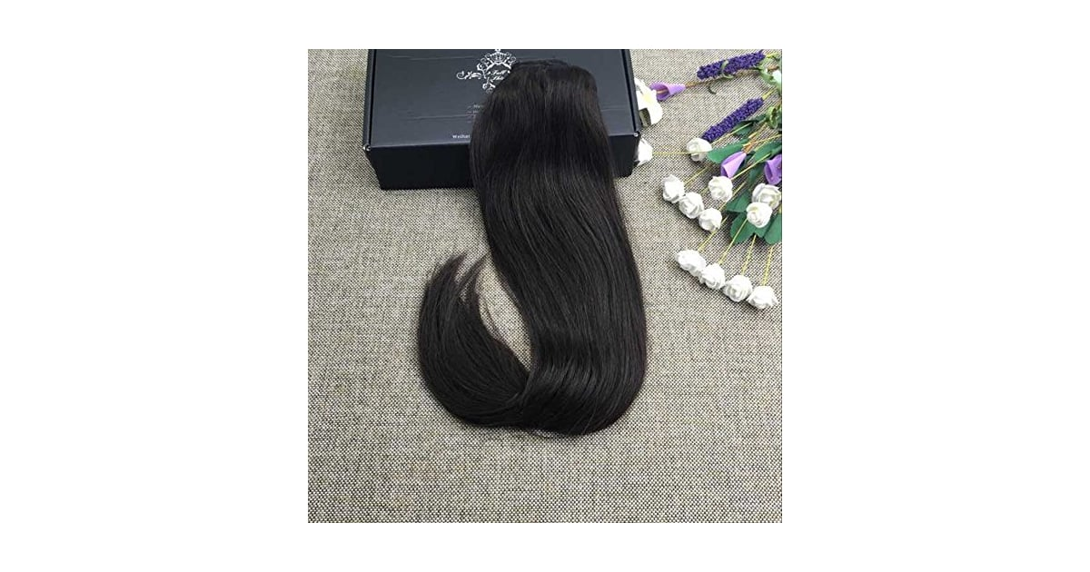 Full Shine Piece Double Weft Clip In Human Hair Extensions Best