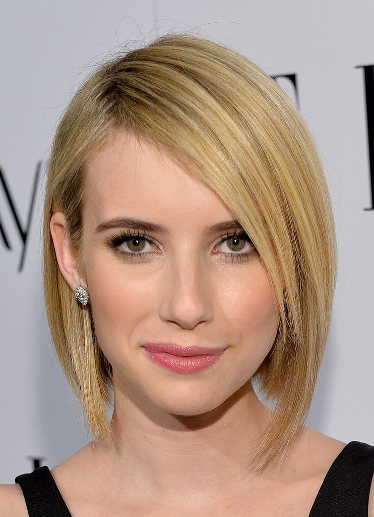 We've said it time and time again: the bob is going to be the biggest haircut of 2014. But we finally got Twitter's attention when Emma Roberts jumped on the trend.