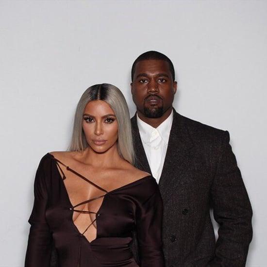 Kim Kardashian Black Dress at Ellen DeGeneres Birthday Party
