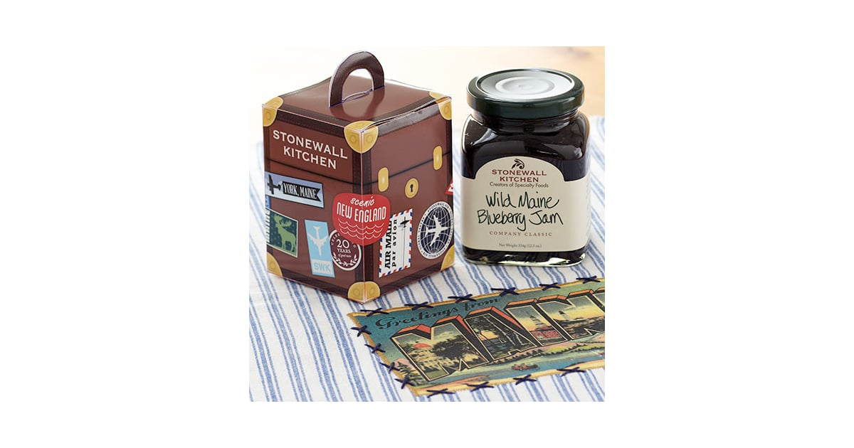 Travel Suitcase With Wild Maine Blueberry Jam Best