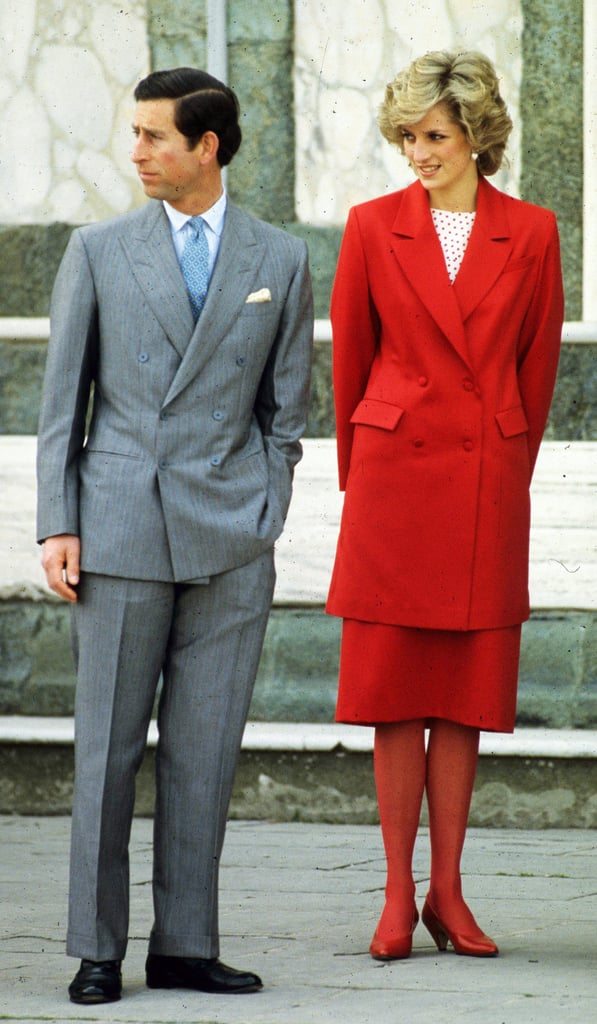 During their 1985 tour of Italy, the royals made an appearance in Florence.
