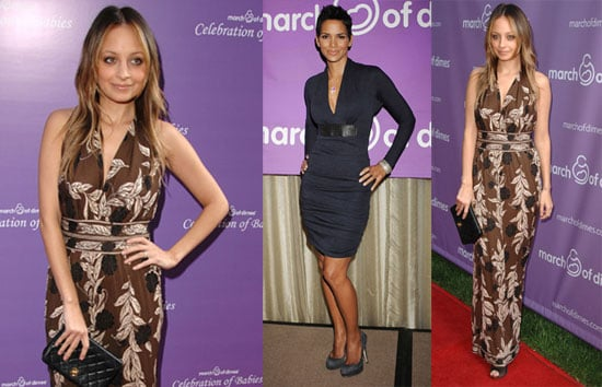 Photos of Halle Berry and Nicole Richie