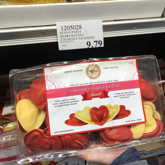 Heart-Shaped Ravioli at Costco