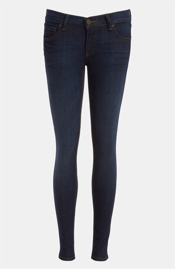 For casual Friday (or a generally relaxed atmosphere), shop a fresh pair of dark denim jeans ($43, originally $72).
