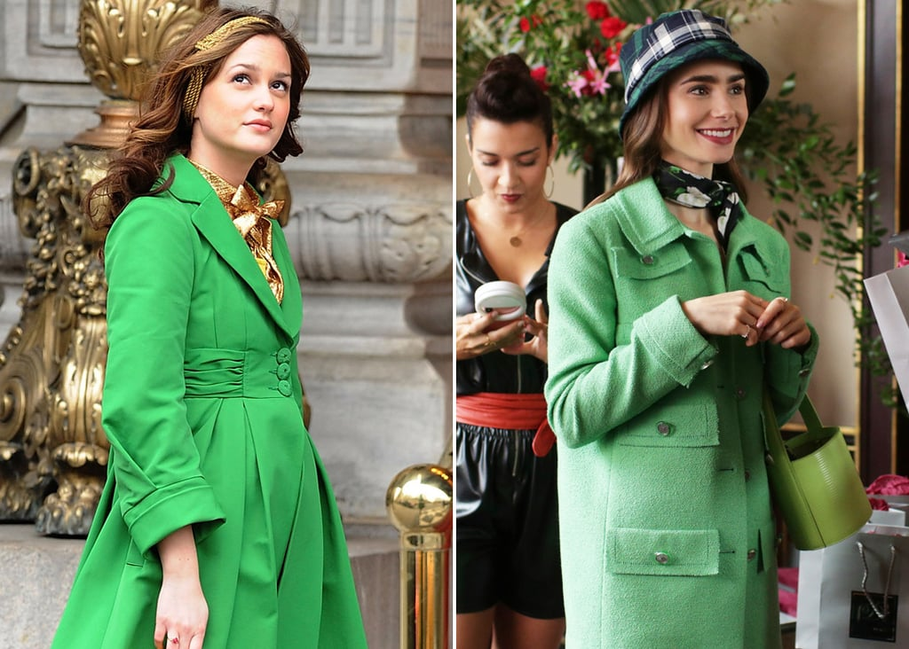 Emily in Paris Outfits That Look Like Blair Waldorf's