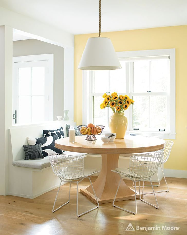 Colored Dining Chairs White Table